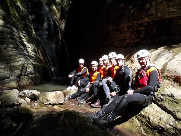 canyoning- Garfagnana (12)