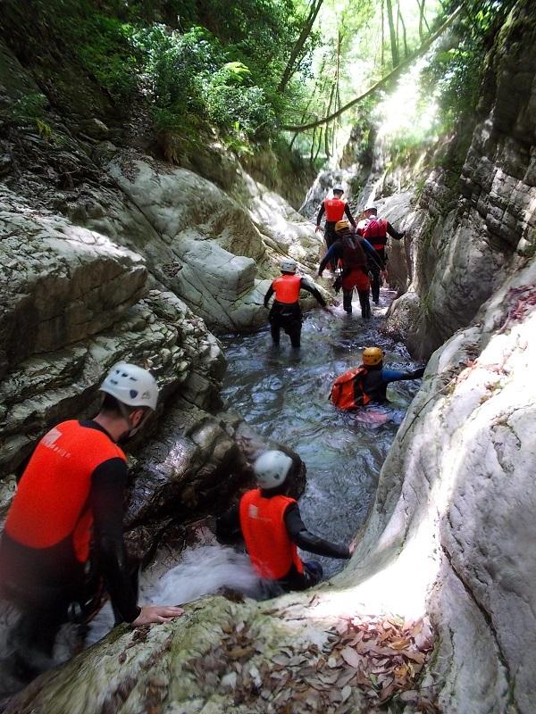 canyoning- Garfagnana (23)
