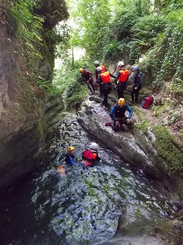 canyoning- Garfagnana (7)
