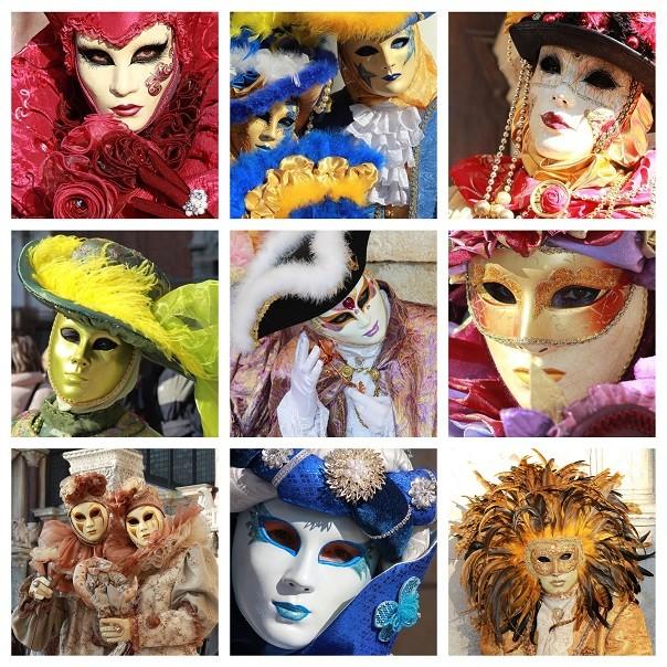carnaval-Venetië-maskers