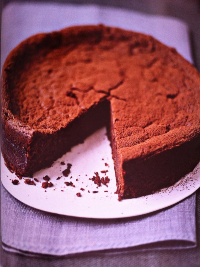 chocoladekastanjetaart