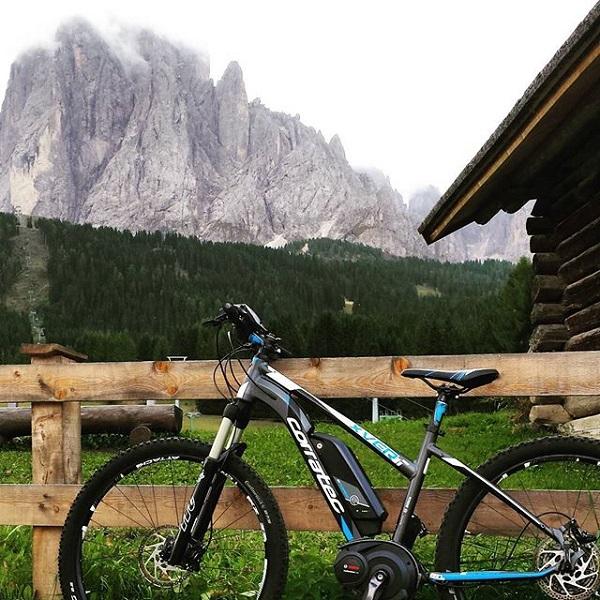 e-bikes-Dolomieten