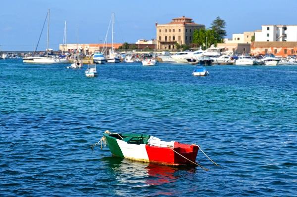 eiland-hoppen-Italië