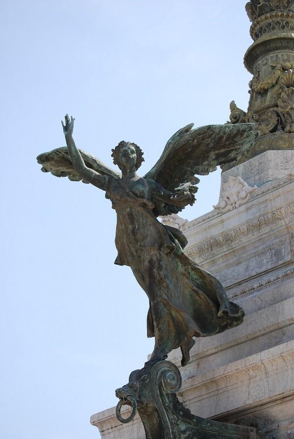 engel-beeld-Vittoriano-Rome