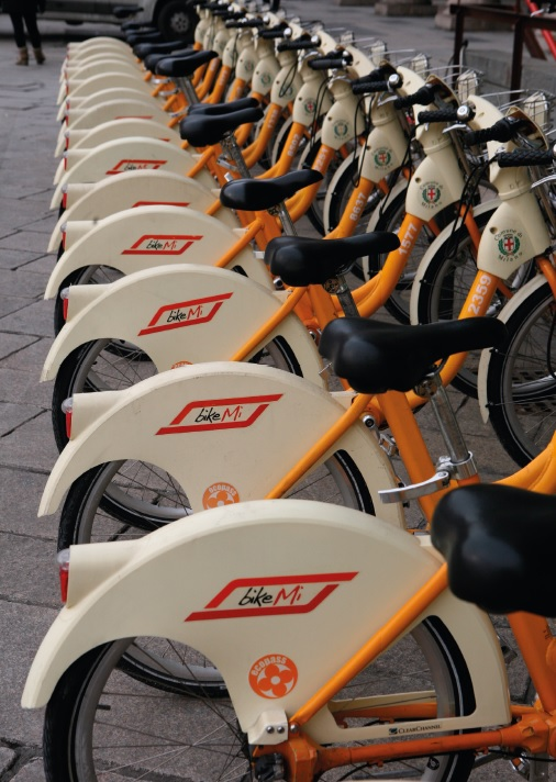 fietsen-Milaan