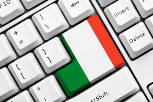 Italy Button