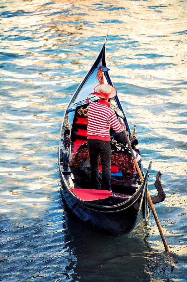 gondelier-Venetië