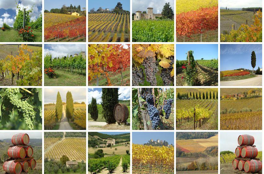 herfst-Italie