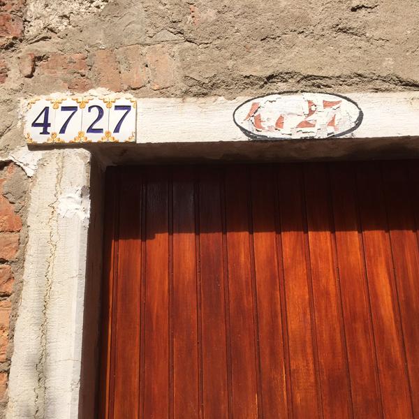 huisnummers-Venetië (1a)