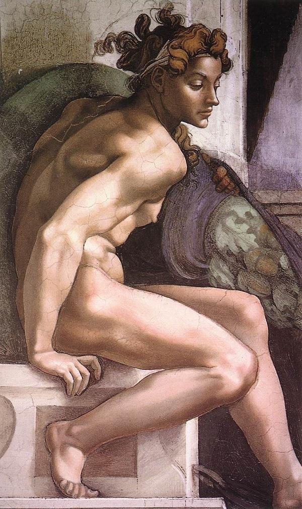 ignudi-Sixtijnse-Kapel-Michelangelo-Rome (1)