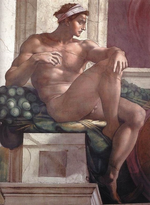 ignudi-Sixtijnse-Kapel-Michelangelo-Rome (2)