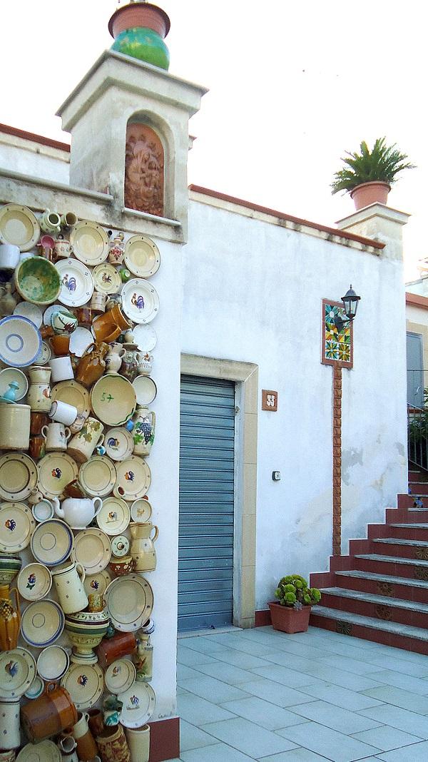 keramiekwijk in Grottaglie