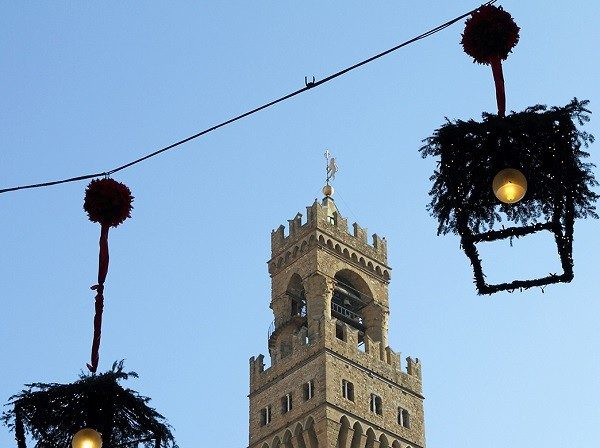 christmas and new years time in Florence - collage