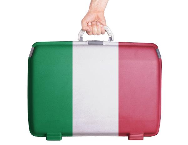koffer-Italie
