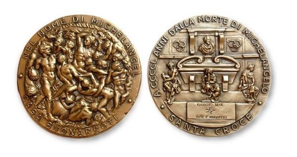 medaille-Michelangelo