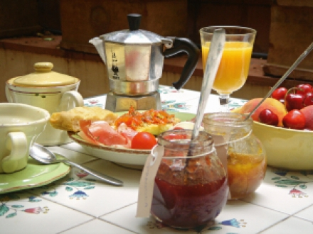 ontbijt Le Stanze di Santa Croce
