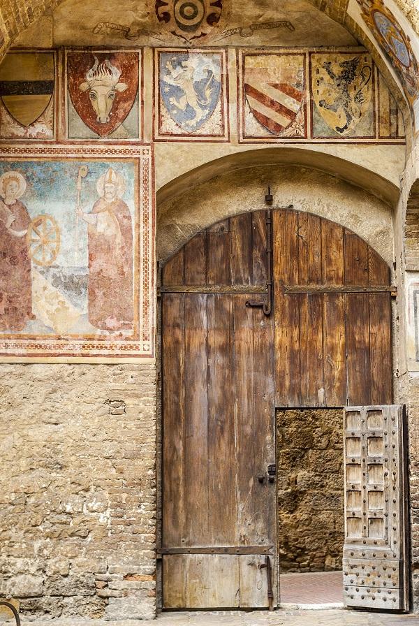 oude-deur-San-Gimignano