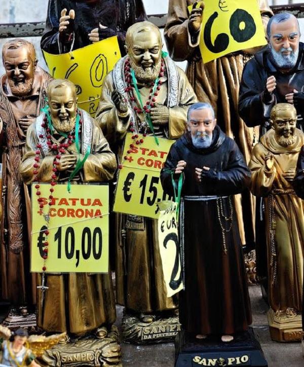 Padre-Pio-beeldjes