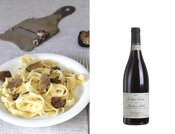 pasta-met-truffel-Italiaans-koken-met-Antoinette-wijn-Barbera-Asti