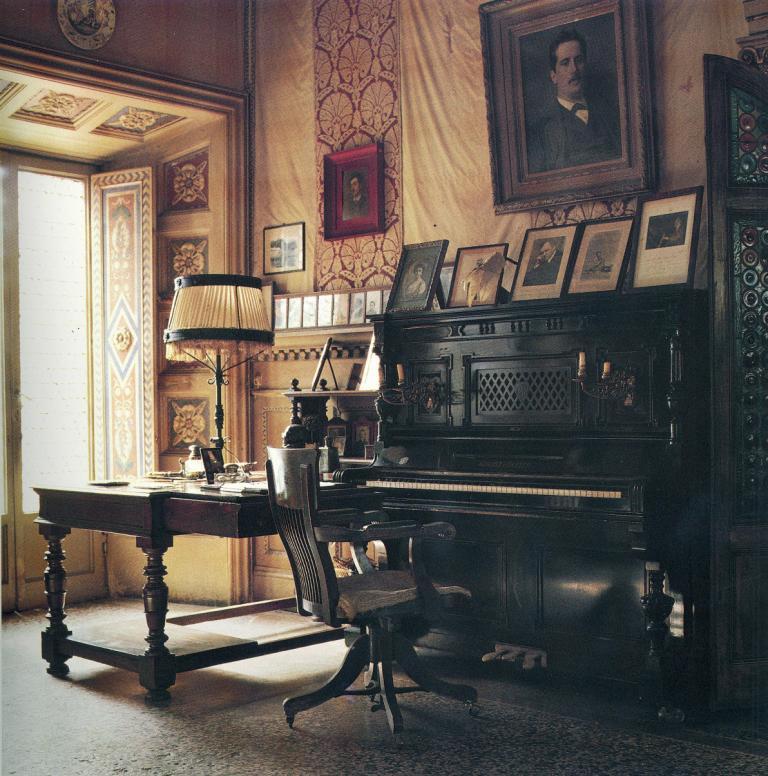 pianoforte nel salone