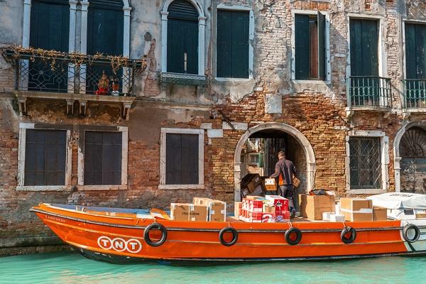 post-boot-Venetië