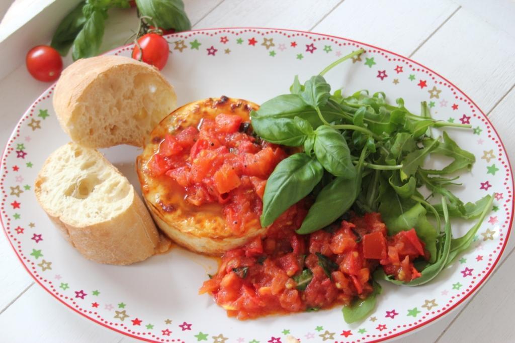 ricottataart-tomaat-schaal