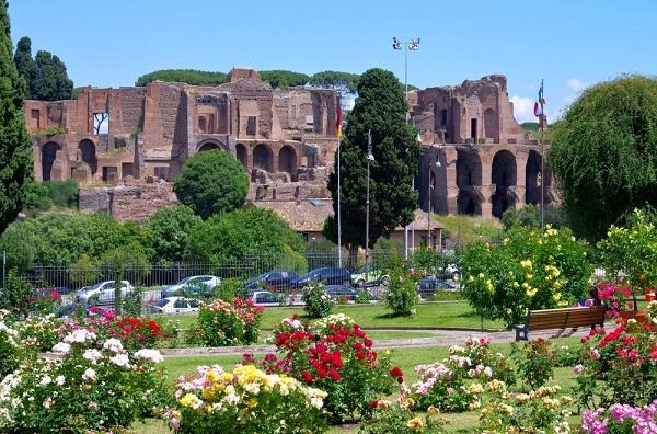 rozentuin-Rome-Roseto-Comunale