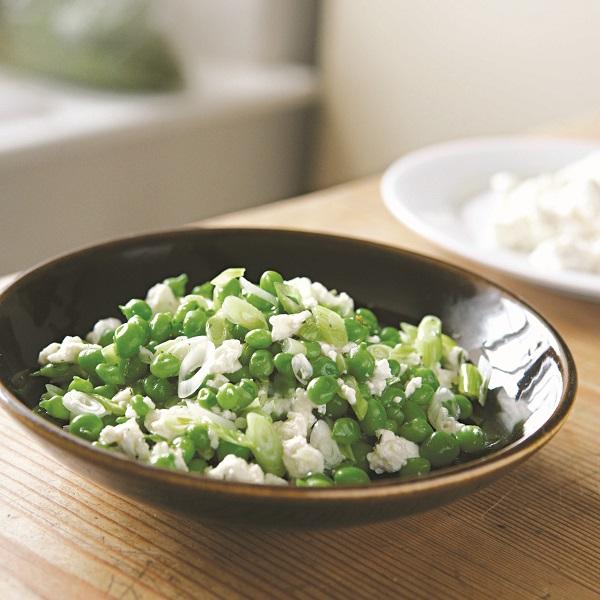 salade-erwtjes-ricotta-Doordeweeks