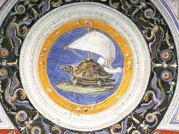 schildpad-Palazzo-Vecchio