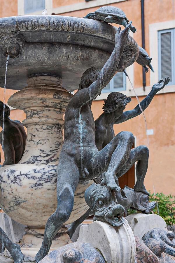 schildpadden-fontein-Piazza-Mattei-Rome