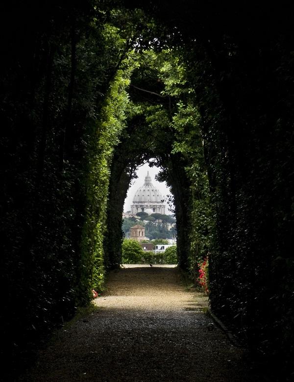 sleutelgat-Rome-Sint-Pieter