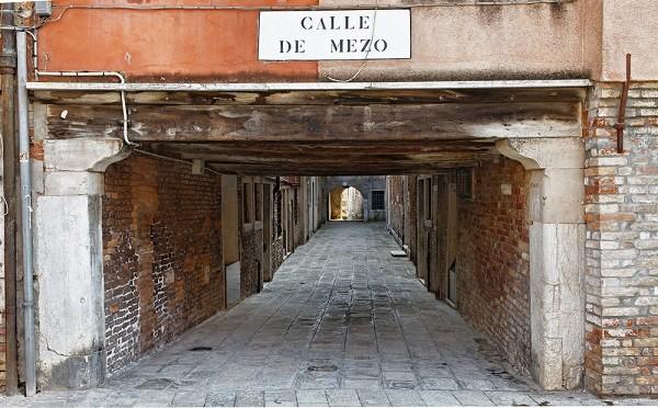 sottoportego-Venetië