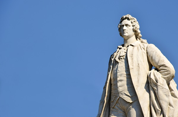 standbeeld-Goethe-Rome-Villa-Borghese