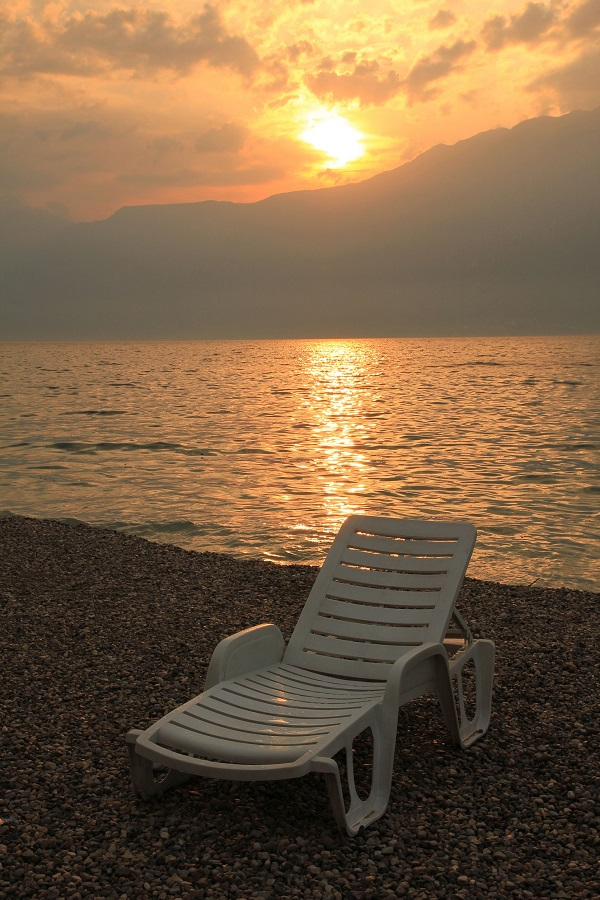strand-zonsondergang-Gardameer