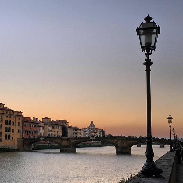 sunset-Florence