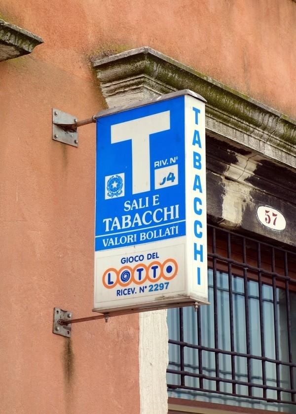 tabaccheria-Italië