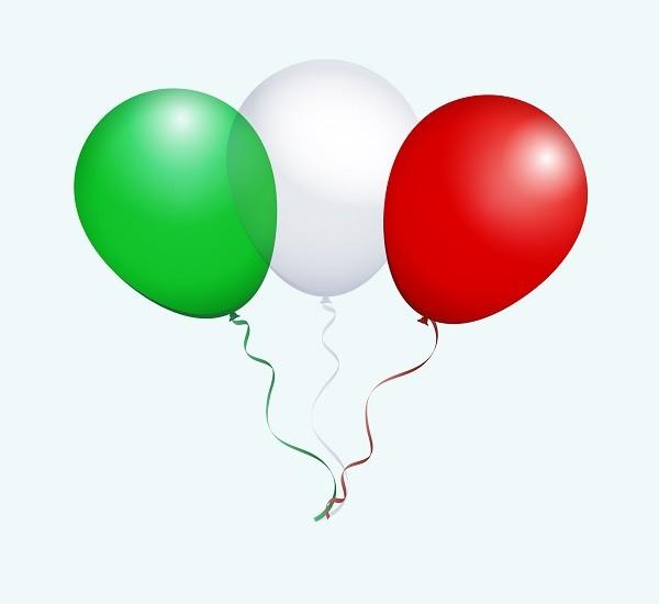 vertaal gefeliciteerd italiaans