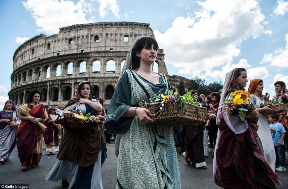 verjaardag Rome