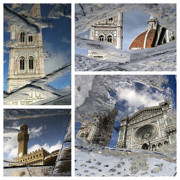 Florence-reflectie-regen